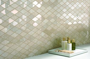 Bagni mosaico finest offerta decorazione pareti in mosaico occasione posa in mosaico with bagni - Mosaico vetro bagno ...